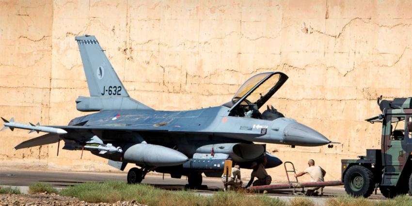 Nederlandse F-16's naar Midden-Oosten voor missie tegen IS