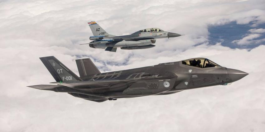 F-35 gaat dinsdag rondvlucht maken boven Nederland