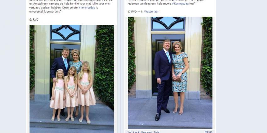 RVD lanceert op Koningsdag Facebookpagina