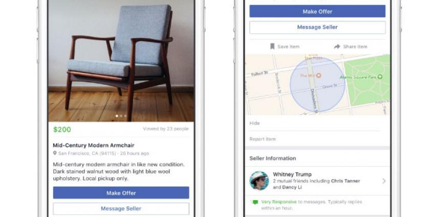 Slokt Facebook de Nederlandse tweedehands sites op