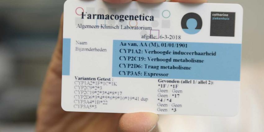 DNA-profiel steeds belangrijker om juiste chemotherapie voor te schrijven