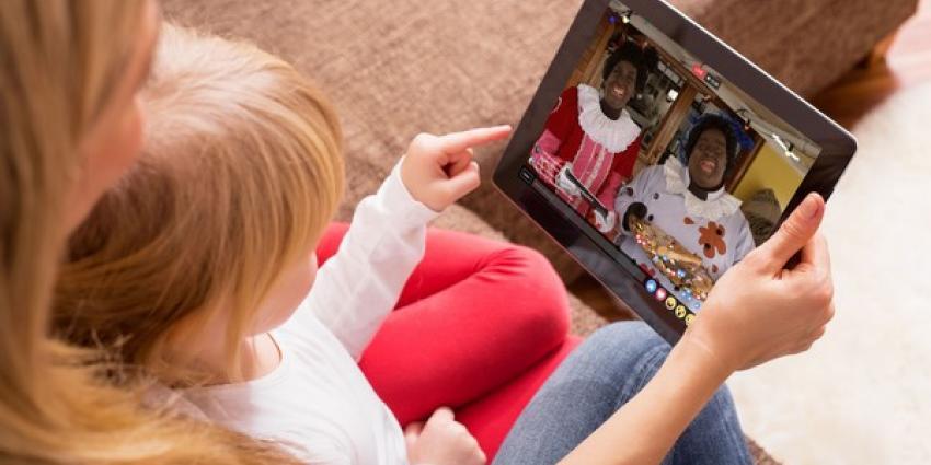 Gezinnen kijken massaal online naar Sinterklaas