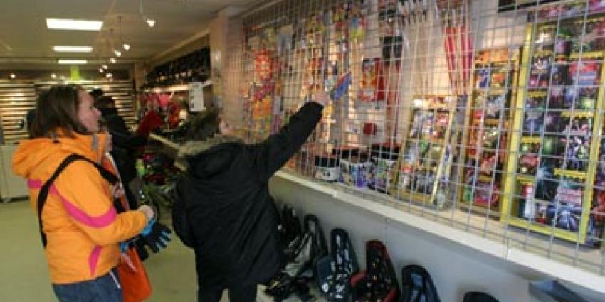 Foto van verkoop vuurwerk in winkel | Archief EHF