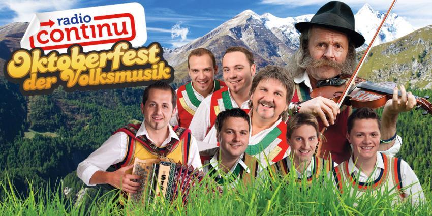 Radio Continu brengt het echte Oktoberfest gevoel naar Nederland