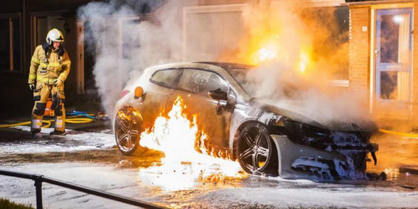 felle autobrand, schijndel, brandweer