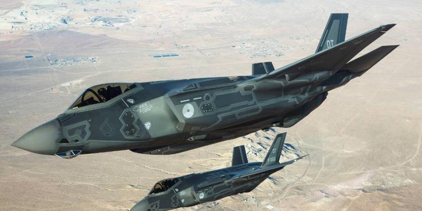 Nederland schaft 8 F-35-toestellen aan