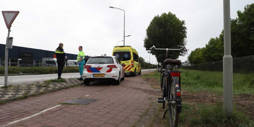 fiets-aanrijding-ambu-politie