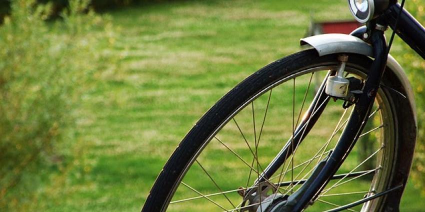 Foto van voorwiel fiets