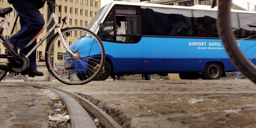 fiets-rails-dam