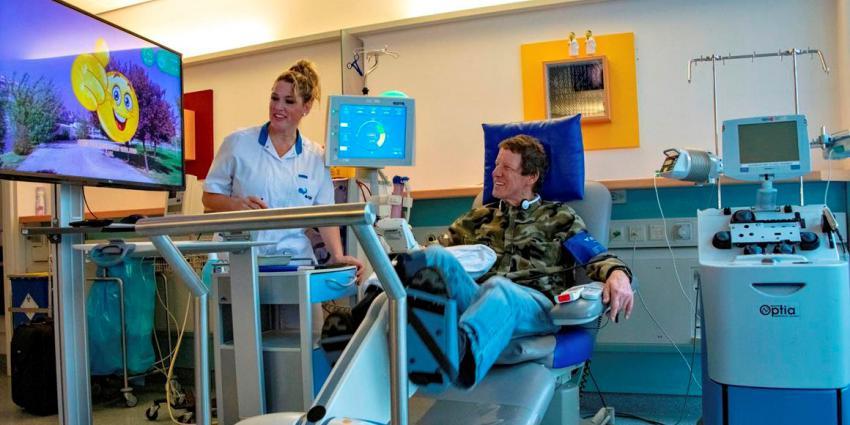 Fietsen tijdens het dialyseren
