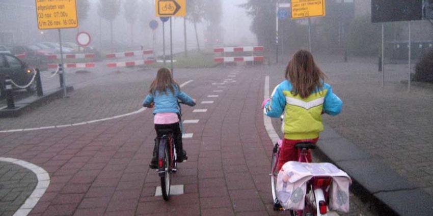 kinderen, fietsen, niet overal, veilig, school