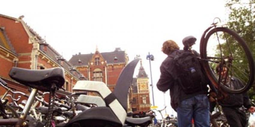 Foto van fietsendief | Archief EHF