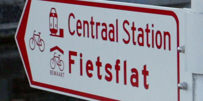 Bouw grootste fietsenstalling van de wereld gestart