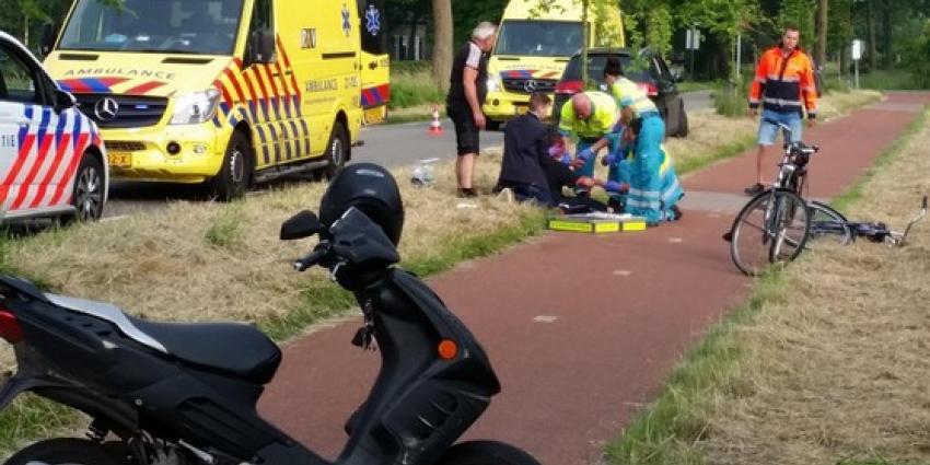 Fietser gewond na eenzijdig ongeval in Gemonde