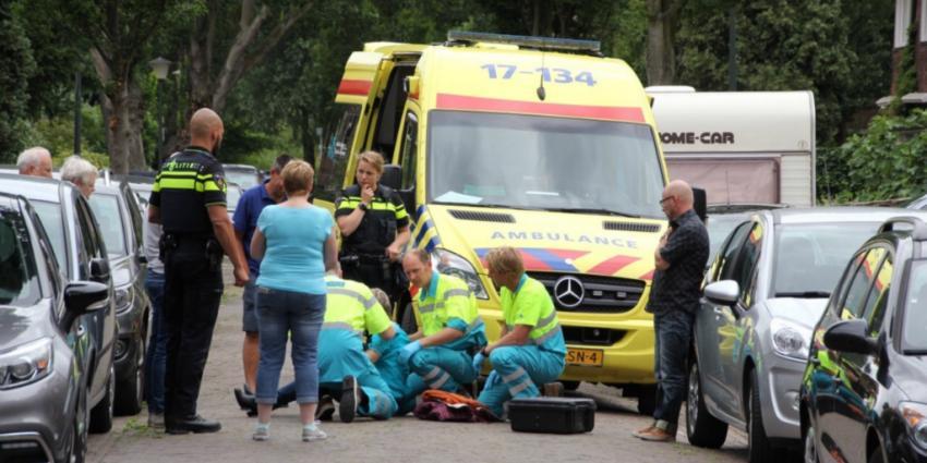 Fietsster gewond na val in Vlaardingen