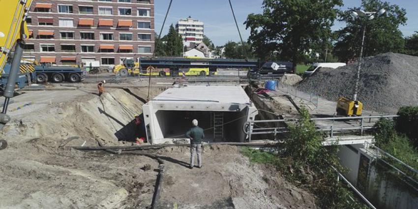 operatie fietstunnel, de bilt