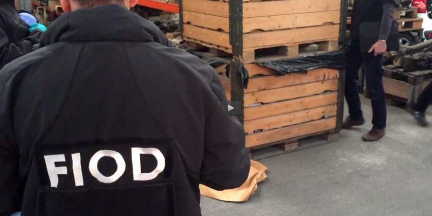 Zoekingen in Nederland en Duitsland door FIOD