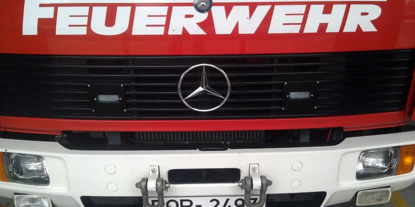 Tien gewonden bij brand in Duits vluchtelingencentrum