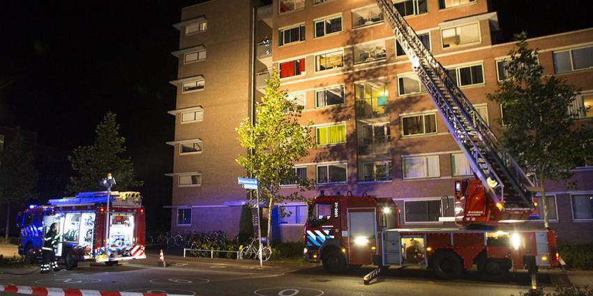 foto van brand studentenflat | Sander van Gils | www.persburosandervangils.nl