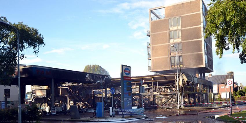 Sloop flat Eindhoven zondagmiddag al begonnen