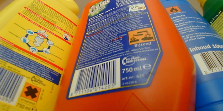 Onderschatting gevaar huishoudchemicaliën oorzaak ongevallen