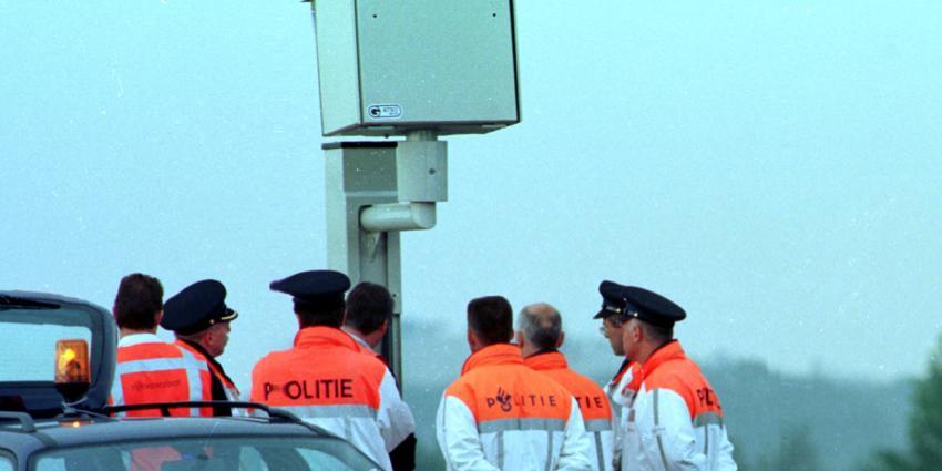 Politie Noord-Brabant:hier staan onze 64 flitspalen