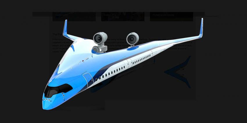 flying-v-vliegtuig