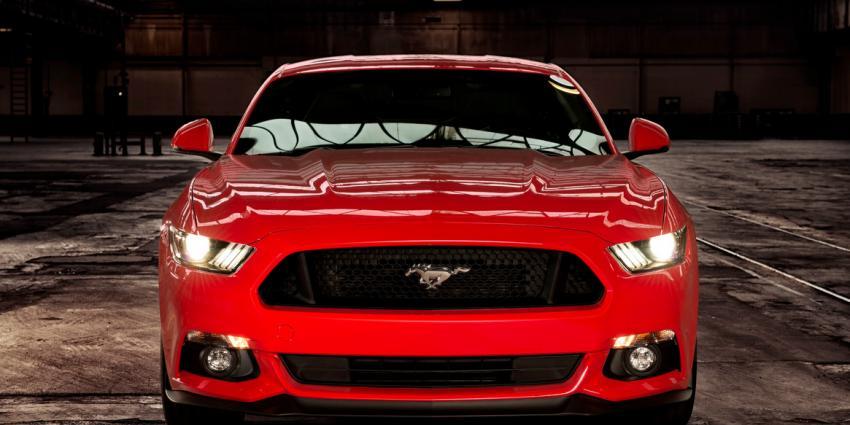 Fonkelnieuwe Mustang in minder dan 5 seconden op de 100 km/u