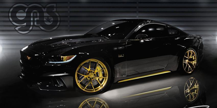 Ford met veel Mustang geweld op SEMA 2014 in Las Vegas