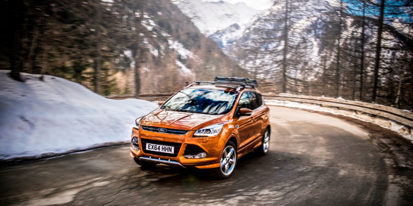 Vernieuwde Ford Kuga nu in de showroom
