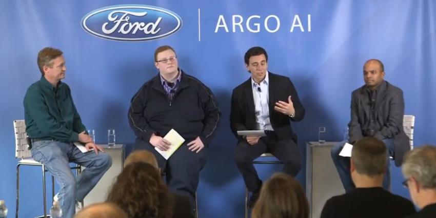 Ford investeert 1 miljard dollar in autonoom rijdende auto's