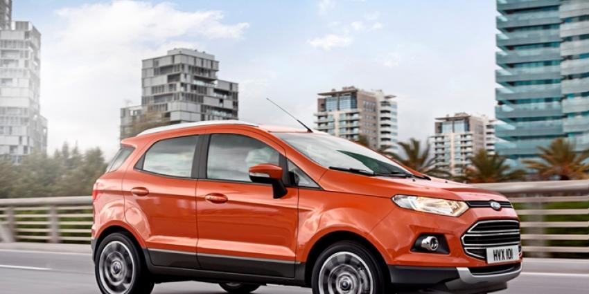 Ford EcoSport Limited Edition SUV nu online te reserveren