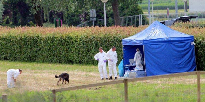 Foto van forensisch onderzoek tent | BON