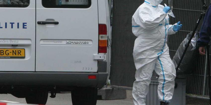 Foto van forensisch onderzoek woning | Archief EHF