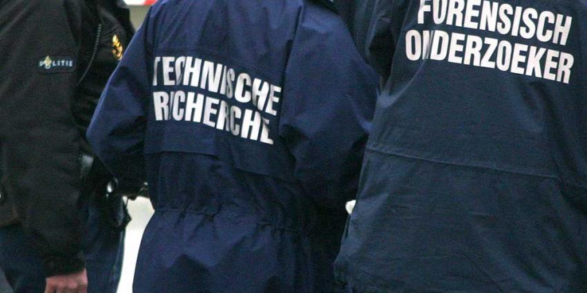 Foto van forensisch en recherche onderzoek | Archief EHF