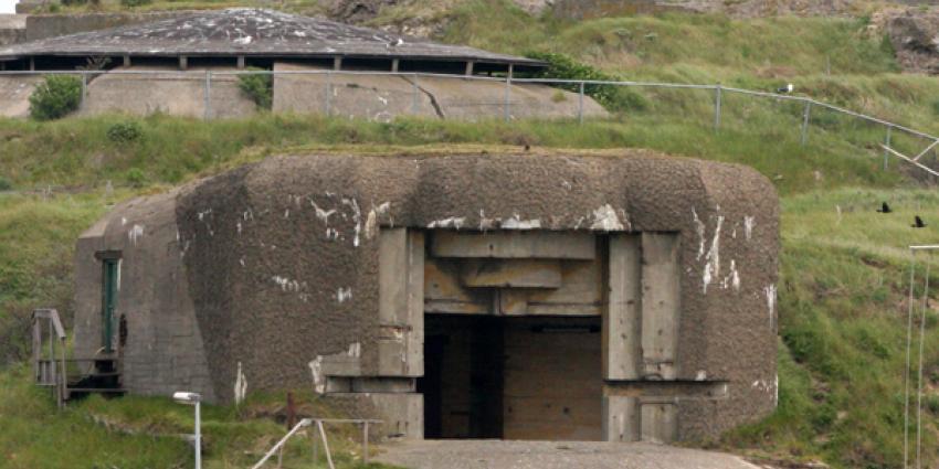 Foto van fort bunker oorlog | Archief EHF