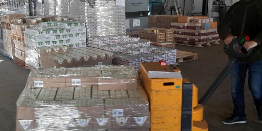 In april aan voedselbanken gegeven levensmiddelen van Defensie.