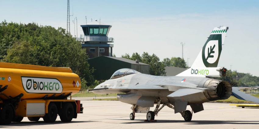 F-16 vliegt prima op frituurvet