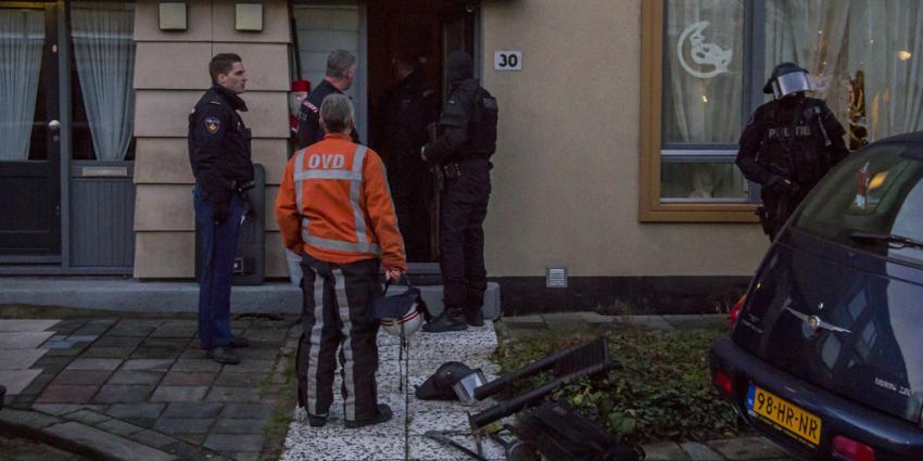 Foto van inval Schiedam | Flashphoto | www.flashphoto.nl
