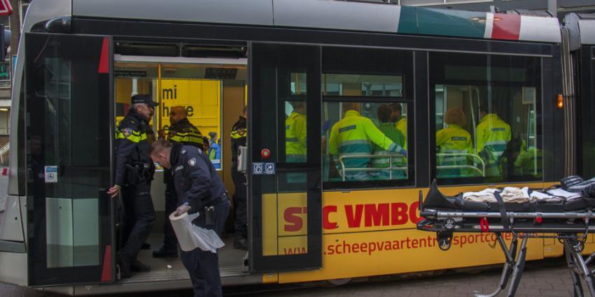 Gewonden bij aanrijding tussen trams