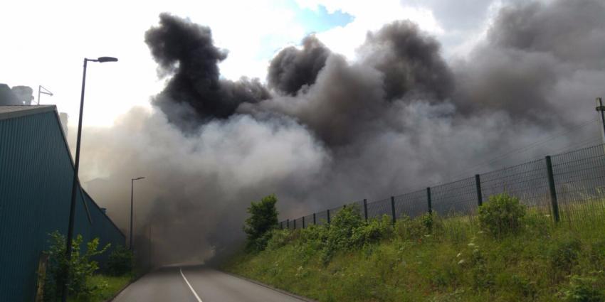 Grote brand in Vlaardingen