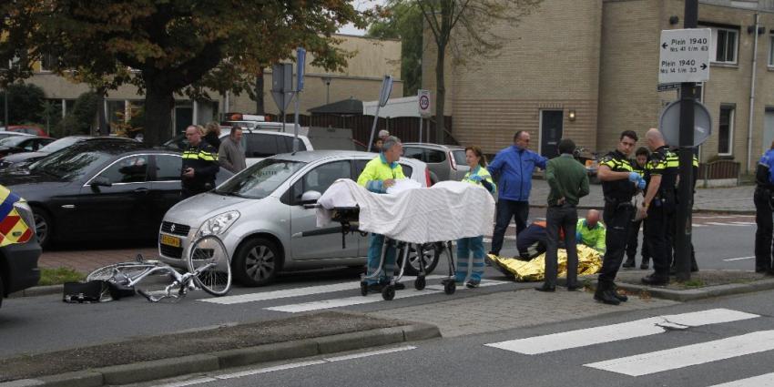 Fietser gewond bij aanrijding in Vlaardingen