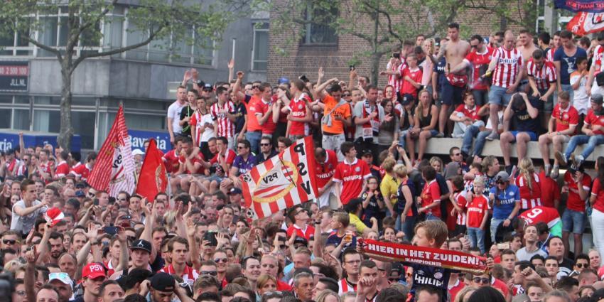 100.000 mensen vierden kampioenschap PSV en Oranje Zwart
