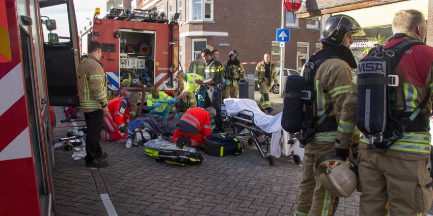 Zwaargewond door explosie in woning Rotterdam