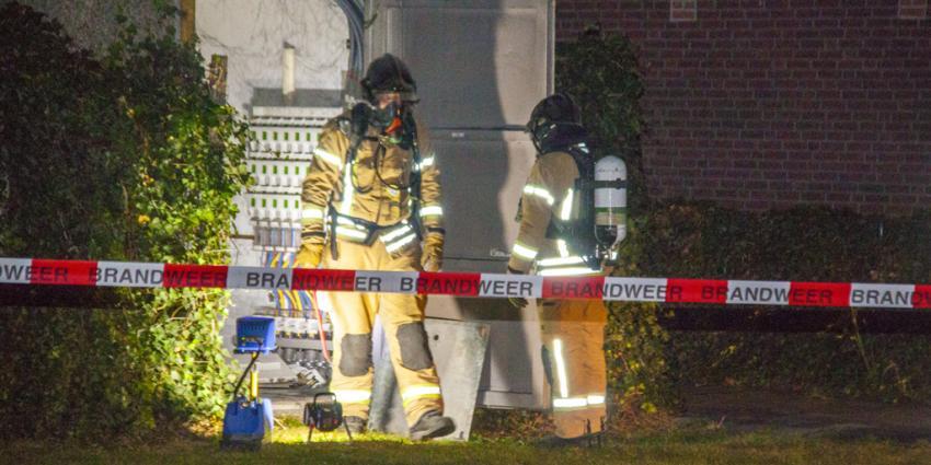 Stroomstoring na brand in stroomhuisje in Schiedam