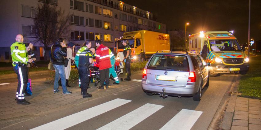 Vrouw aangereden door auto in Schiedam