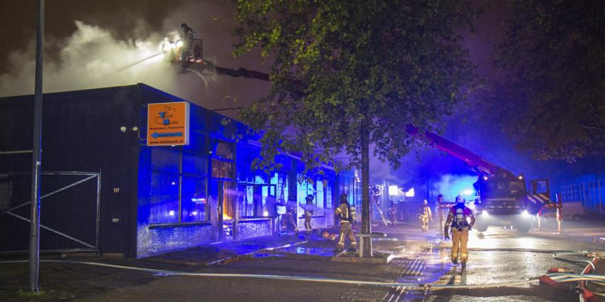 Grote Brand in partycentrum