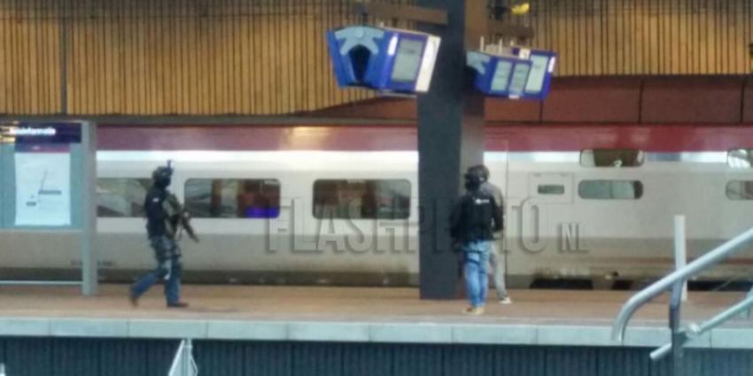 Rotterdam CS ontruimd om verdacht persoon in wc Thalys
