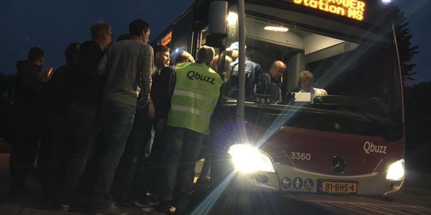 Extra bussen tijdens TT Assen