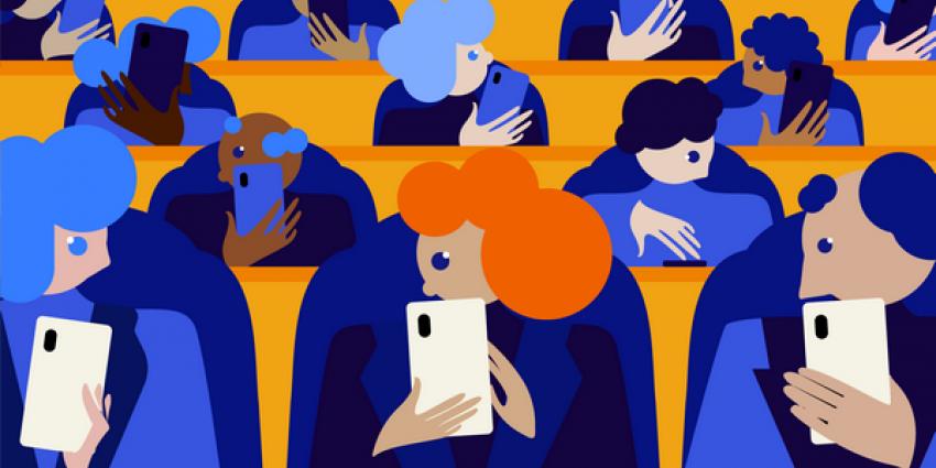 kamerleden, debat, smartphone